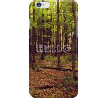 Lost in the Trees  iPhone Case/Skin