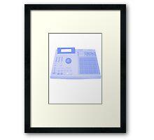 Akai MPC2000 Framed Print