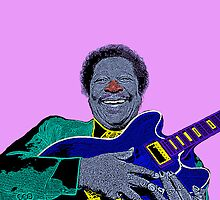 B.B. King Culture Cloth Zinc Collection iPhone Case by CultureCloth