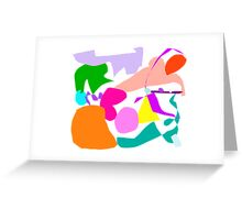 Right Crab Snow Hope Map Continent Trial Greeting Card