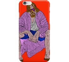 Big Lebowski The Dude Golfball Culture Cloth Zinc Collection iPhone Case iPhone Case/Skin