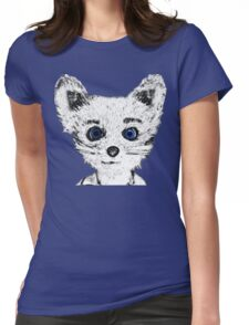 Silver Fox Womens Fitted T-Shirt