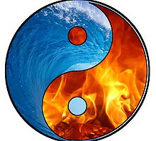 Ying Yang - Water and Fire by PolariStar