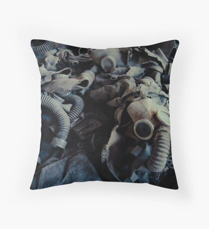 Attended by Shadows Throw Pillow