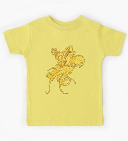 yellow Kracken Kids Tee