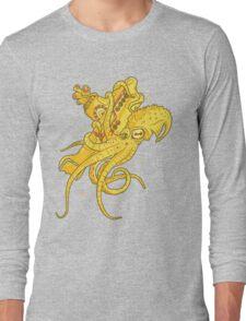 yellow Kracken Long Sleeve T-Shirt