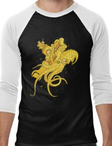 yellow Kracken Men's Baseball ¾ T-Shirt
