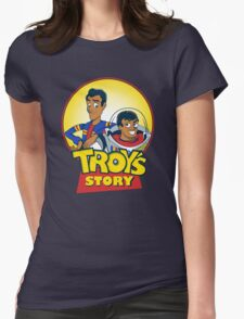 Troy's Story Womens Fitted T-Shirt
