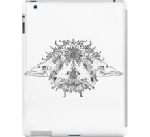 Giraffe skulls iPad Case/Skin
