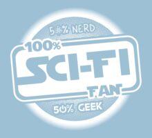 100% Sci-Fi Fan!  Kids Clothes