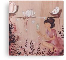 Sweet little seahorse Canvas Print