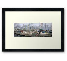 Plymouth bestseller Framed Print