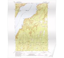 USGS Topo Map Washington State WA Holly 241556 1953 24000 Poster