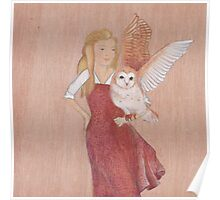Girl and Owl, a love story Poster