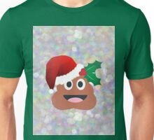 santa claus poop emoji Unisex T-Shirt
