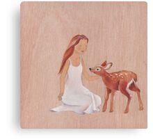 Innocence and trust  Canvas Print