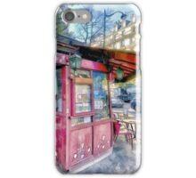 Boulevard Voltaire, Paris France iPhone Case/Skin