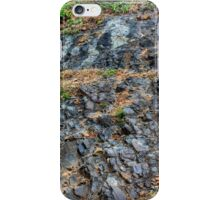 Haitian Rock Face with Greenery iPhone Case/Skin