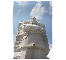 Dr Martin Luther King Jr's Memorial Washington DC Poster