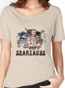 Spartacus - Blood and Sand - Andy Whitfield Women's Relaxed Fit T-Shirt