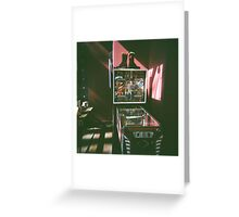 Pinball Greeting Card
