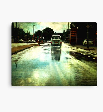 Once upon a Dutch rainy day Canvas Print