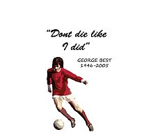 George Best Photographic Print