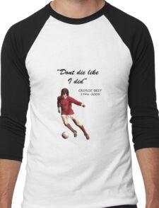 George Best Men's Baseball ¾ T-Shirt