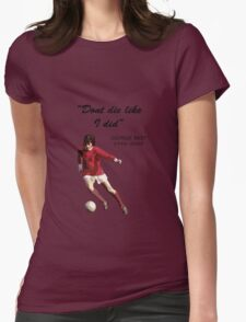 George Best Womens Fitted T-Shirt