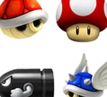 Mario Kart Power-Ups Sticker
