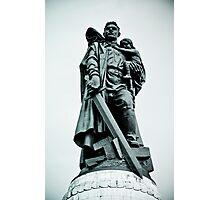 Treptower Park, Soviet war memorial. Photographic Print