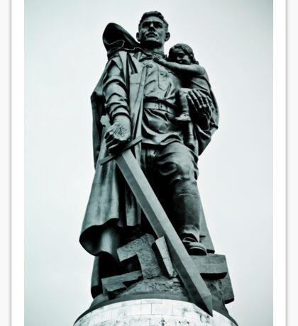 Treptower Park, Soviet war memorial. Sticker