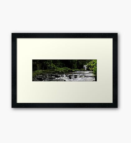 New Angle on JD Waterfall Framed Print