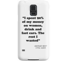 George Best Samsung Galaxy Case/Skin