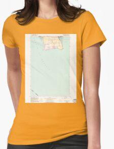 USGS Topo Map Washington State WA Point Roberts 243176 1952 24000 T-Shirt