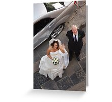 Pearl & Stevens Wedding Pic 20 Greeting Card
