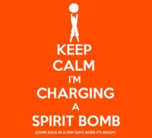 Keep Calm Spirit Bomb by Tomer Abadi