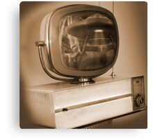 Philco Television  Canvas Print