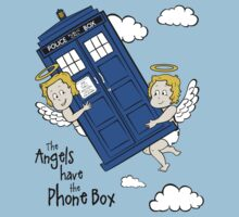 The Angels have the Phone Box - Version 2 (for light tees) Baby Tee