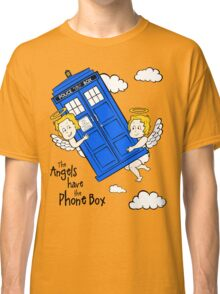 The Angels have the Phone Box - Version 2 (for light tees) Classic T-Shirt