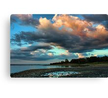Cool Clouds Canvas Print