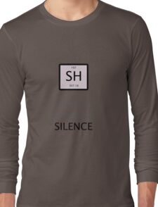 Atomic Symbol For Silence! Long Sleeve T-Shirt