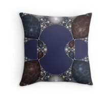 Kleinian Marble Inlay III Throw Pillow