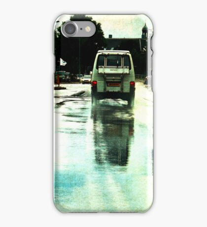Once upon a Dutch rainy day iPhone Case/Skin