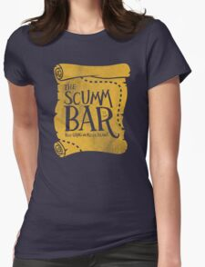 THE SCUMM BAR Womens Fitted T-Shirt