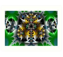 Multidimensional Gateway Art Print
