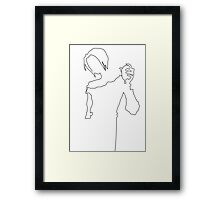 The Singer Framed Print