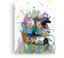 It's Time..for Adventures! Canvas Print