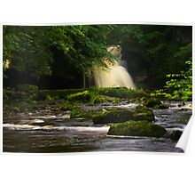 Cauldron Falls, Walden Beck, North England Poster