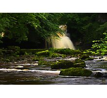 Cauldron Falls, Walden Beck, North England Photographic Print